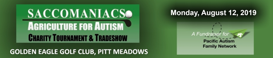 Saccomaniacs Agriculture for Autism Golf Tournament & Tradeshow 2019